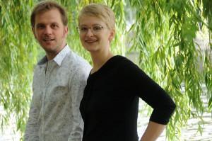 das Duo Fee Stracke und Alexander Beierbach
