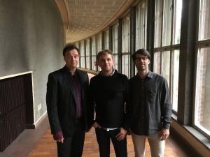 das Trio BROM mit Alexander Beierbach, Jan Roder und Christian Marien